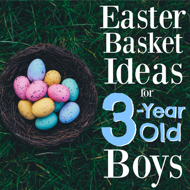 These are the absolute best Easter basket ideas for 3-year old boys! You'll have a happy kid Easter morning with these Easter basket stuffers!