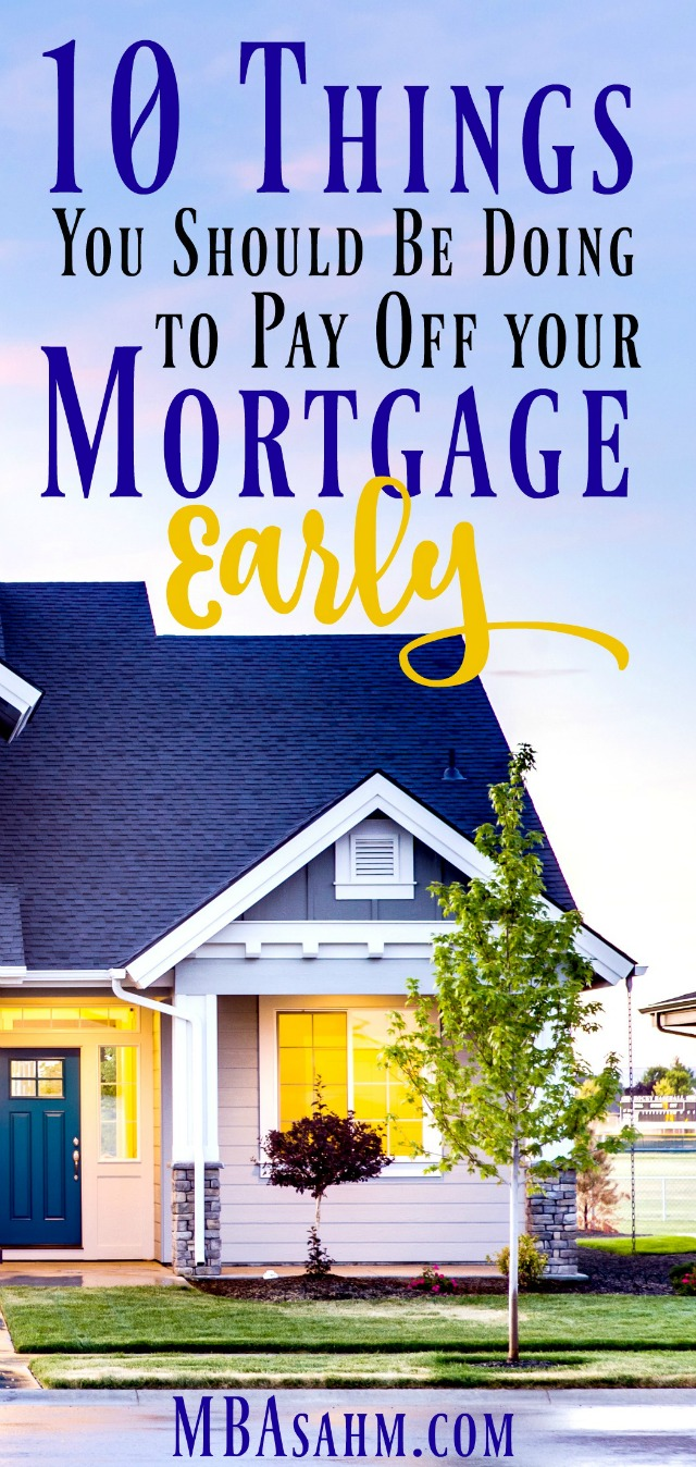 The fastest way to reach financial freedom is to pay off your mortgage! There are so many different ways to do this, so there's really no excuse to not prioritize getting out of debt. Check out these 10 things that can help to get rid of the mortgage.