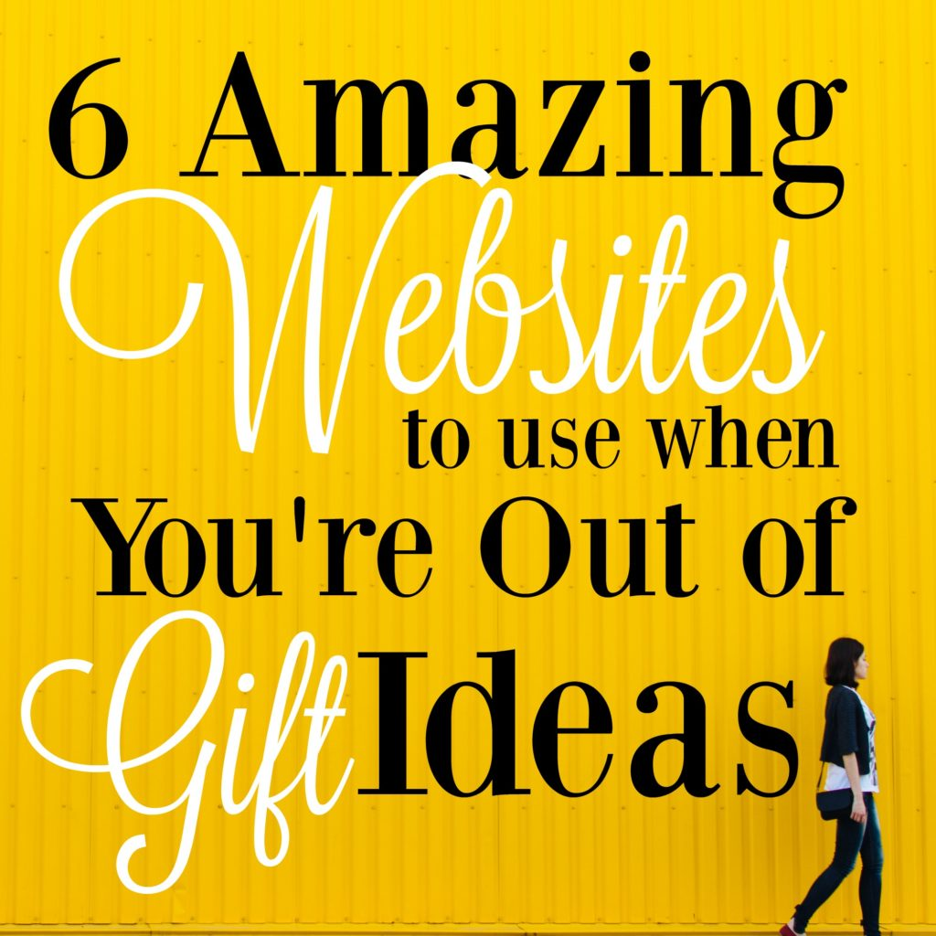 These sites are the absolute best for finding gift ideas for the person who has everything! They're brilliant!