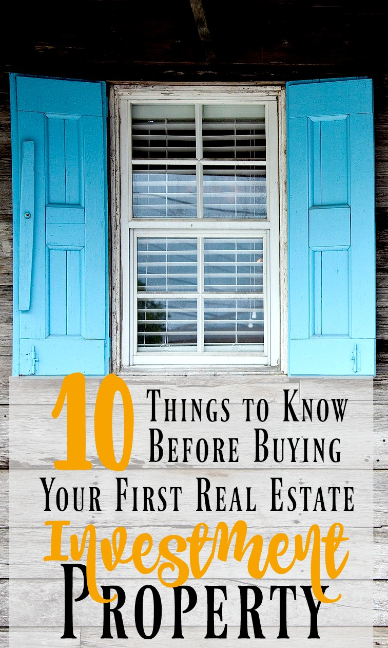 how to buy your first investment property pdf