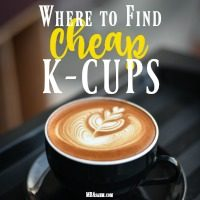 If you are looking for a good deal on K-cups, check out this list before you spend another penny! You may be paying more than you should.