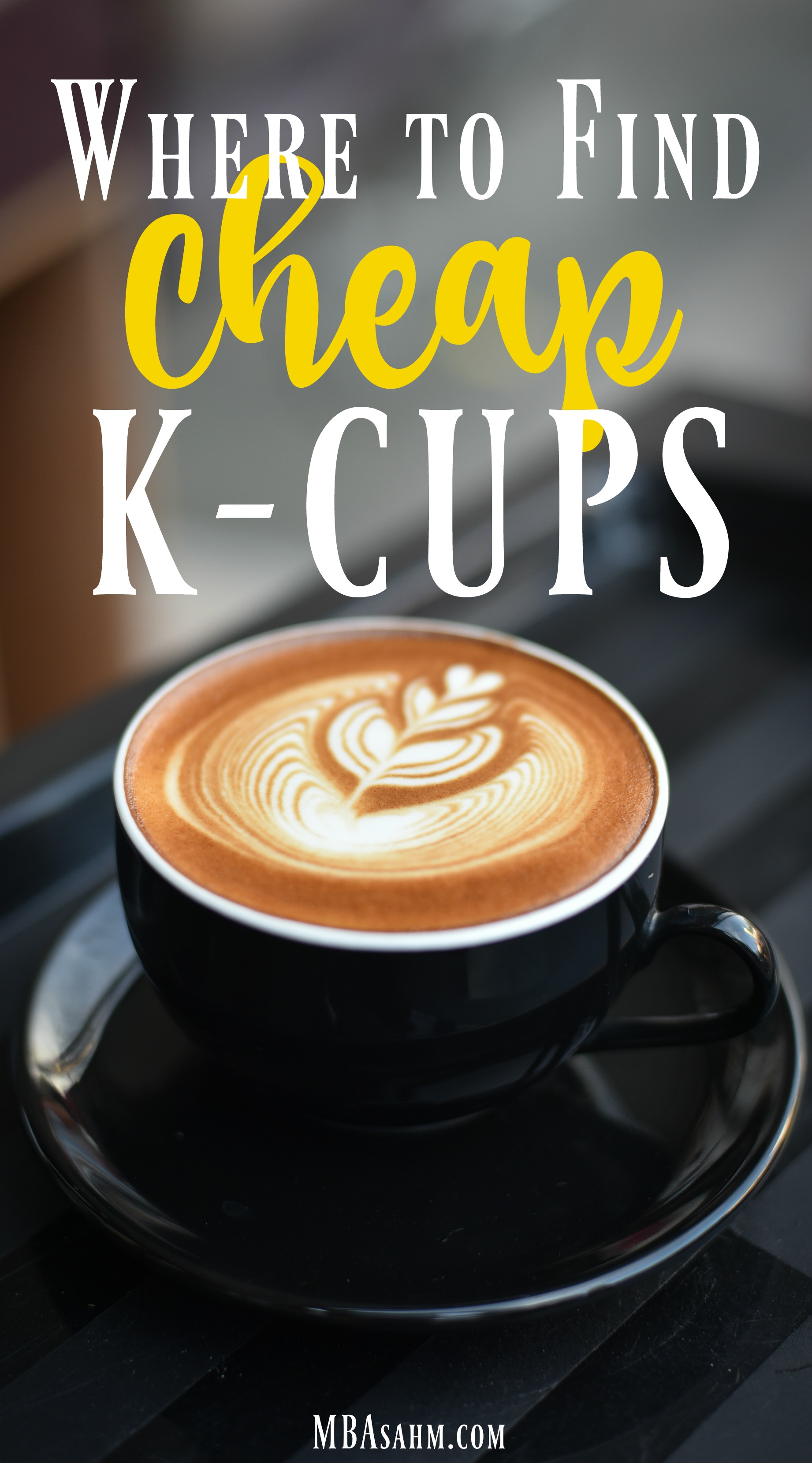 If you want to know where to find cheap K-cups, check out this list. You may be surprised by how easy it is to save money on K-cups!