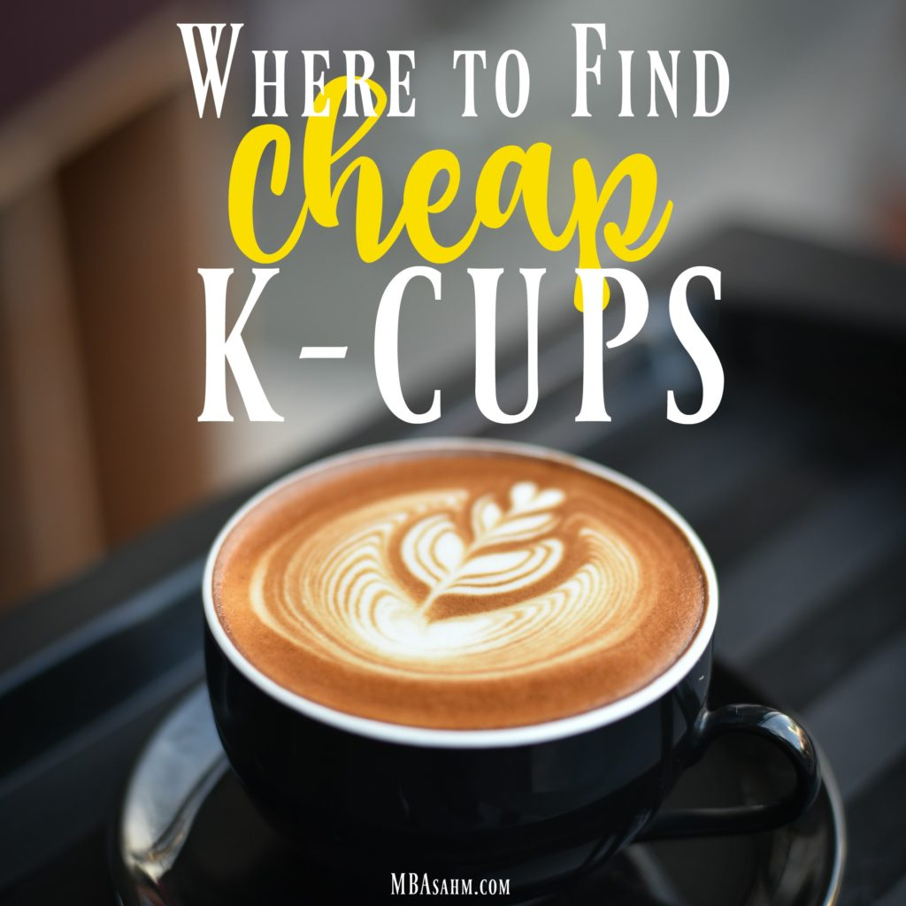 Figuring out where to find cheap k-cups is something every Keurig lover needs to know! This list will give you the best places to get cheap K-cups.