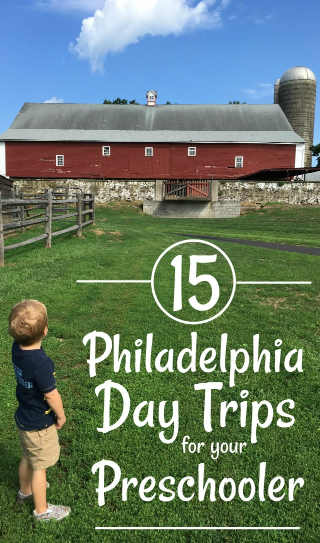 These Philly day trips are the perfect way to distract your toddler or preschooler on a rainy day!