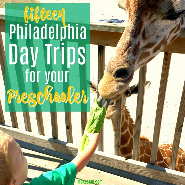 These Philadelphia day trip ideas are the perfect getaway for your toddler or preschooler!