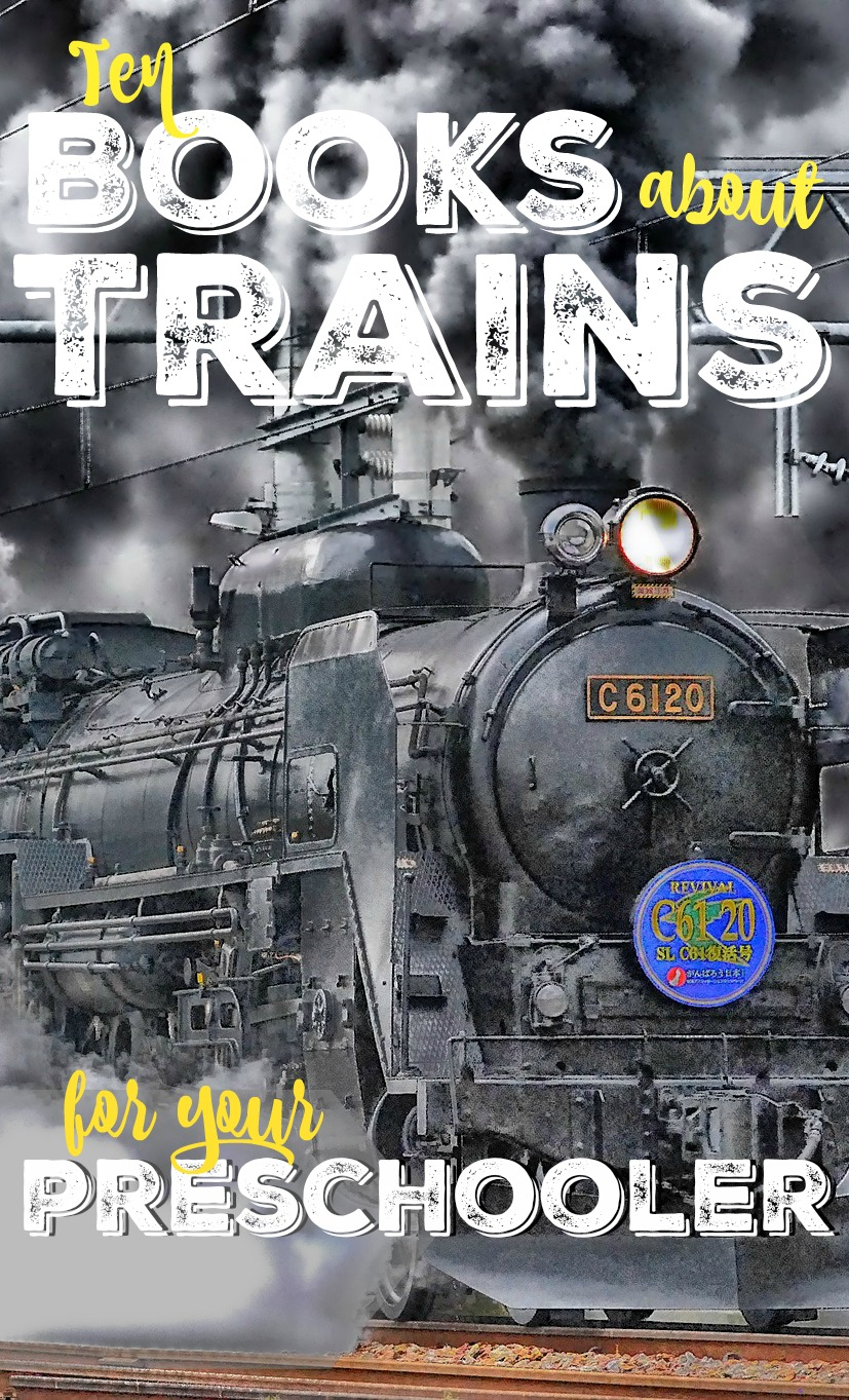 These train books for toddlers and preschoolers will occupy your little guy for hours! If you're looking for train gifts that aren't Thomas, these will all do the trick!