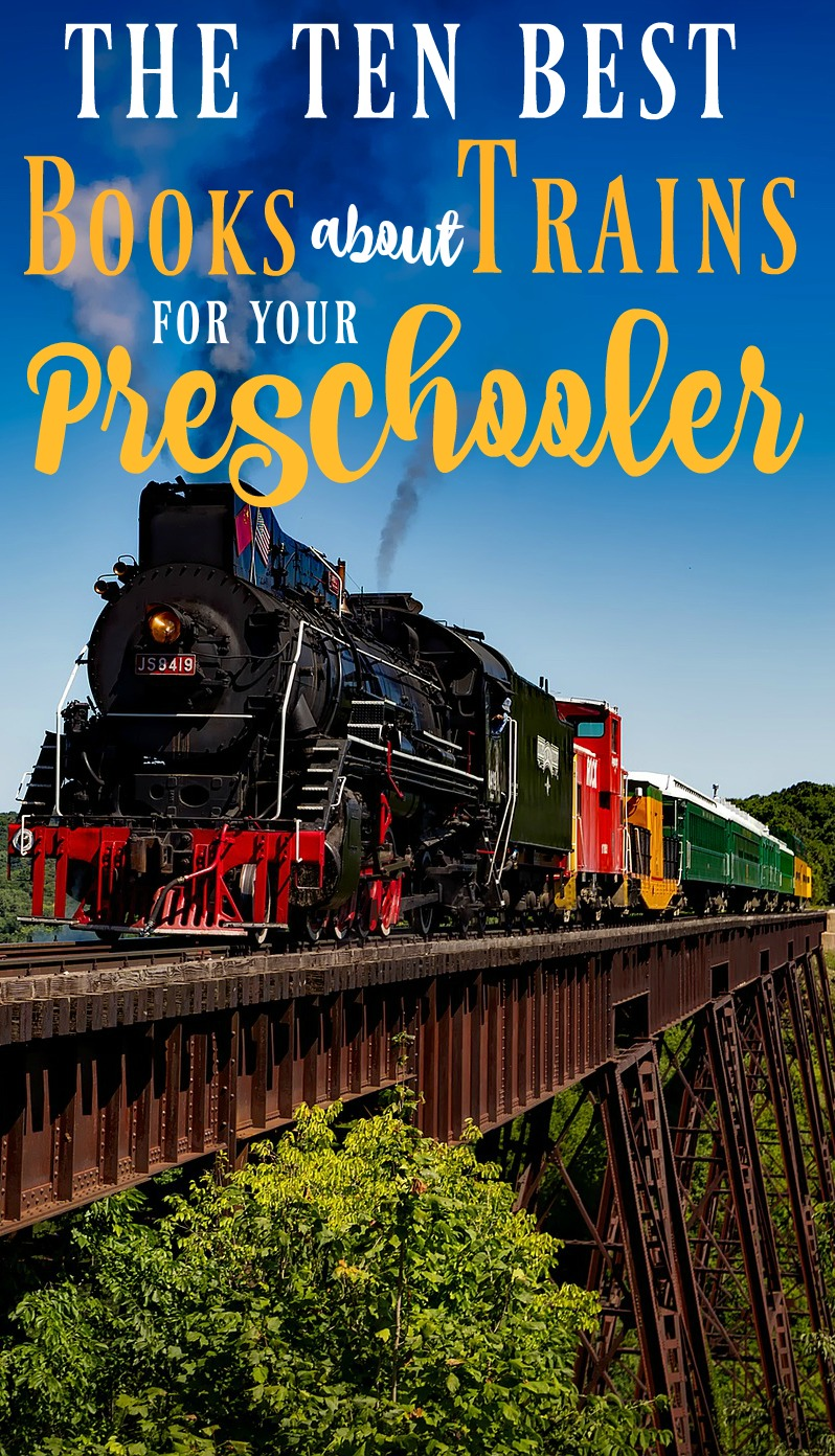 These are definitely the best books about trains for your preschooler or toddler! If you're on the hunt for train gift ideas for preschoolers, these will be big winners!