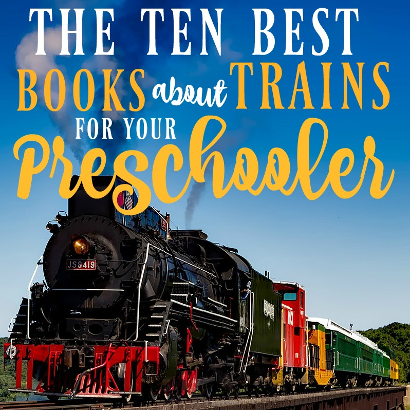 These are the best books about trains for preschoolers! If you're looking for train gift ideas for your toddler or preschooler, these will all be big winners.