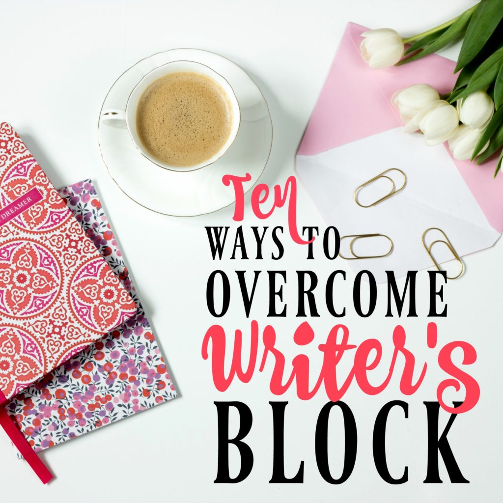 Figuring out how to overcome writer's block is one of the biggest challenges for writers. These tips always work for me, so I hope they'll do the trick for you too!