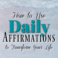 Daily affirmations are one of the easiest ways to completely transform your life and all it takes is positive-thought and self-empowerment!