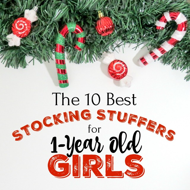 These are the best stocking stuffers for 1-year old girls that you'll be able to find! These gift ideas are sure to please.
