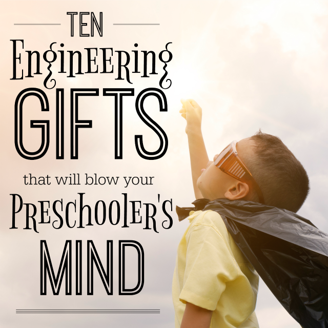 These are definitely the best engineering gifts for preschoolers! Whether your child loves building, pulling things apart, coding, or tinkering around, they'll enjoy these gift ideas!