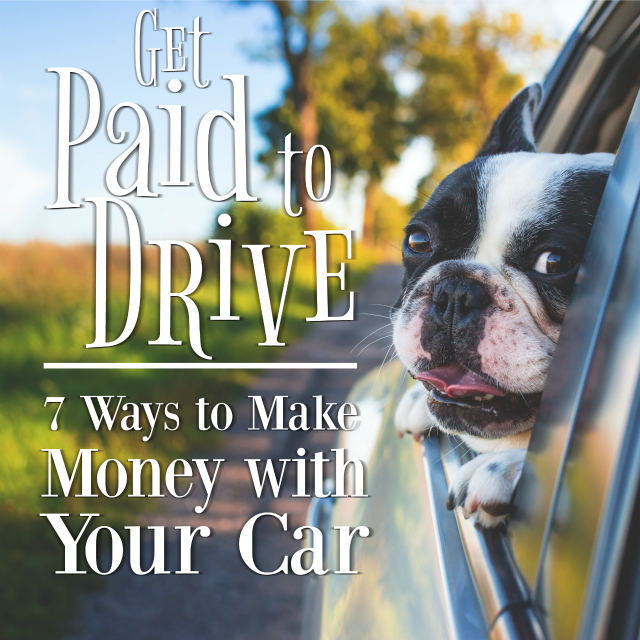 Believe it or not, there are a ton of ways to make money with your car (or at least 7 for now). Check out this list to see how you can start getting paid to drive.