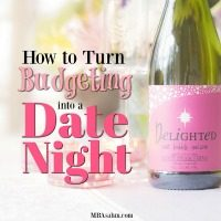 How to Create a Budgeting Date Night