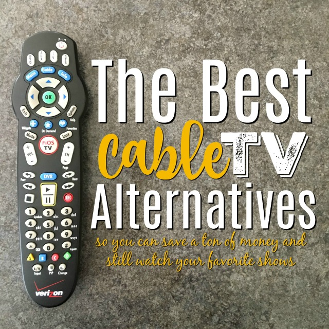 Want to watch TV without cable? These alternatives to cable TV are the best places to start if you want to cut your cable bill, but still watch your favorite shows!