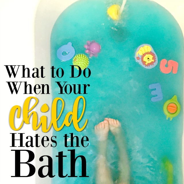 If your child hates the bath, you're not alone! This is such a common problem, and there is a way to fix it. Try out these strategies to make bath time fun again!