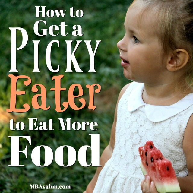What to do if your child is a picky eater.