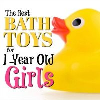 The Best Bath Toys for 1-Year Old Girls