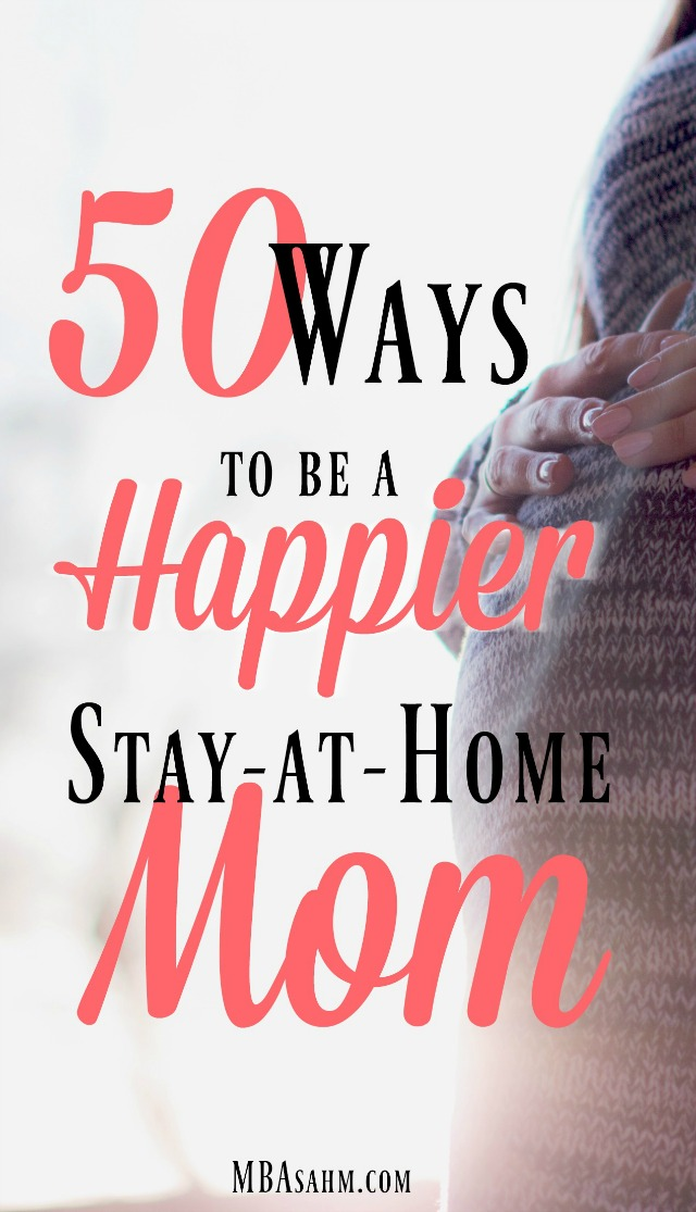 Ideas for inspiration, self-care, and ways to be a happier SAHM!
