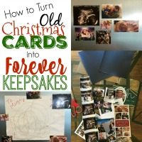 How to Turn Old Christmas Cards into Keepsake Magnets