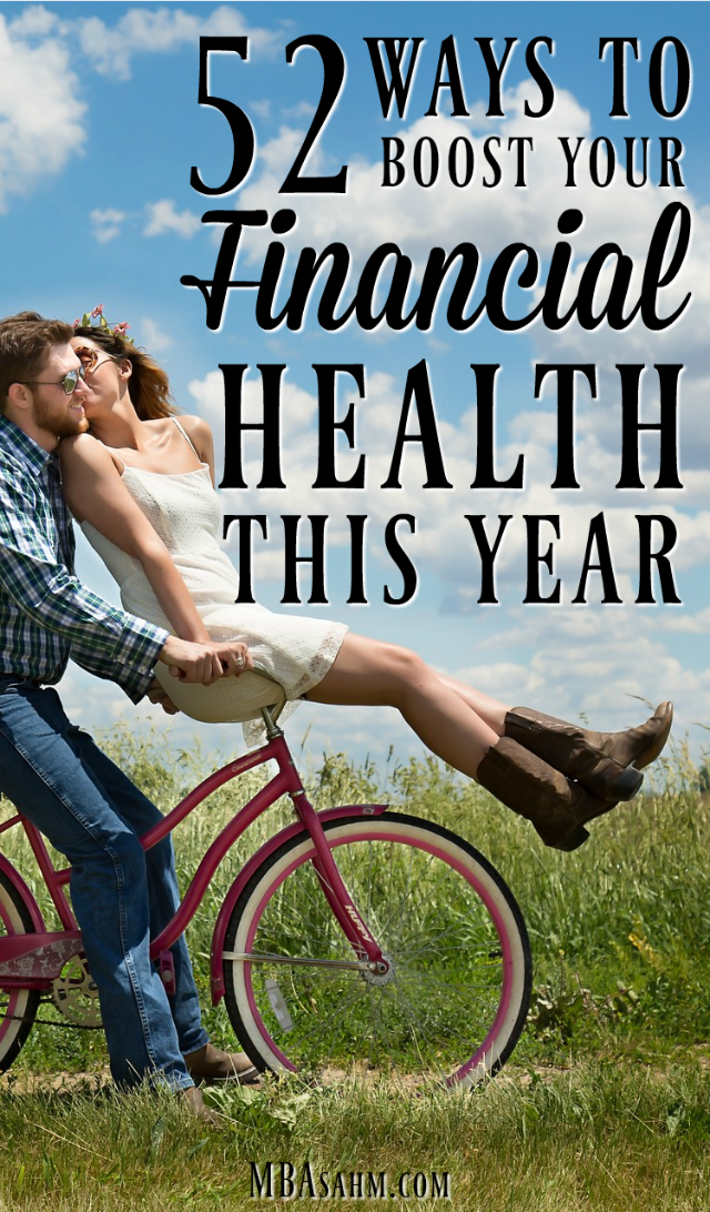 If you want to boost your financial health this year, try this list of actions you can take to improve your finances. You can transform your life in just one year!