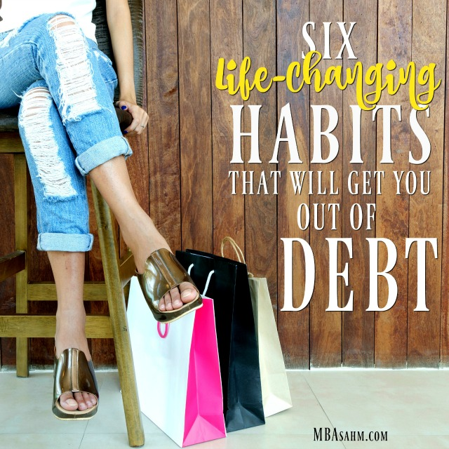 These life-changing habits will take you one step closer to financial freedom by helping you to eliminate all debt from your life.