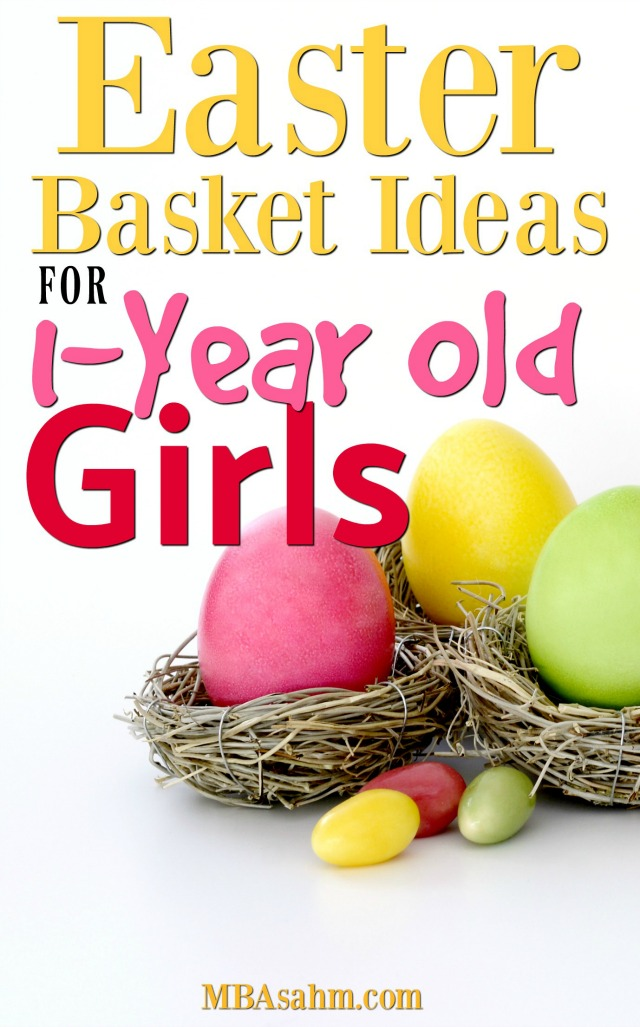 The best easter basket ideas for 1 year old girls mba sahm these easter basket ideas for 1 year old girls are sure to please your little negle Choice Image