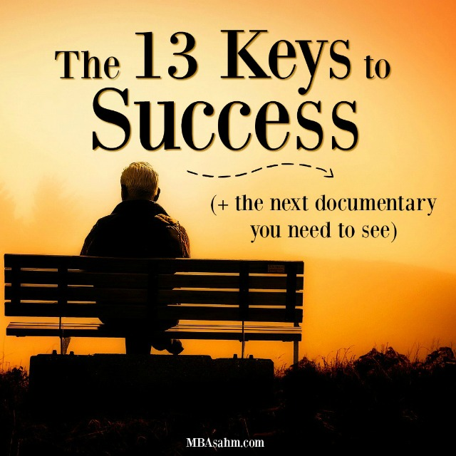 Napoleon Hill identified 13 keys to success that you need if you want to achieve your dreams. His amazing documentary goes in detail about how to incorporate these 13 keys to success into your life.