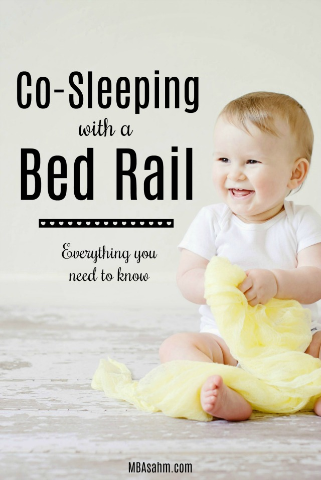 Here's everything you need to know about co-sleeping with a bed rail. Find out if using a bed rail while co-sleeping is a good fit for you.
