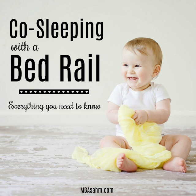 If you're considering using a bed rail while co-sleeping, read through this to see if it will be a good fit for you!