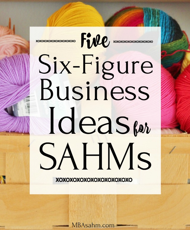 All of these six figure business ideas for SAHMs can be done from anywhere and at anytime.  Learn how to be an Amazon FBA seller, a six-figure freelance writer, or starting your own Etsy store.