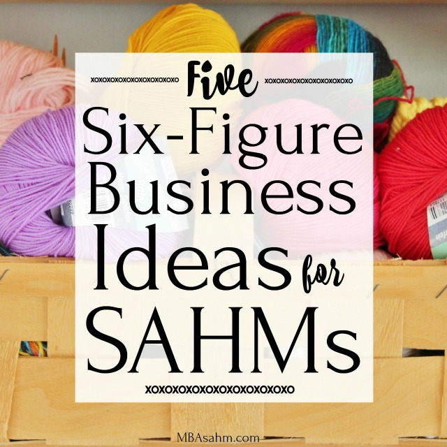 All of these six figure business ideas for SAHMs can be done at home and on your own time. Learn about being an Amazon FBA seller, a six-figure freelance writer, or starting an Etsy store empire!