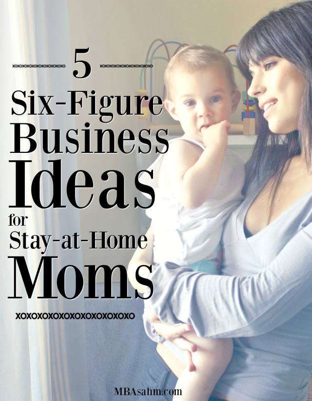 These six-figure business ideas for stay at home moms have the power to completely change your life! All of them are jobs you can do with your kids at home, so you can still be a SAHM! The hardest part is just taking the first step.