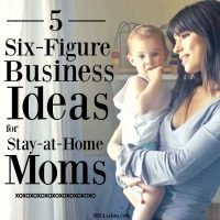These six-figure business ideas for stay at home moms have the potential to completely change your life! All of these are jobs you can do with your kids, so you can still be a SAHM!