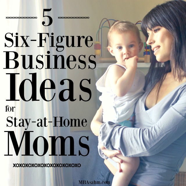 All of these six-figure business ideas for stay at home moms have been proven to work time and again! You can work while you take care of your kids, so you can be a SAHM and have a successful business.