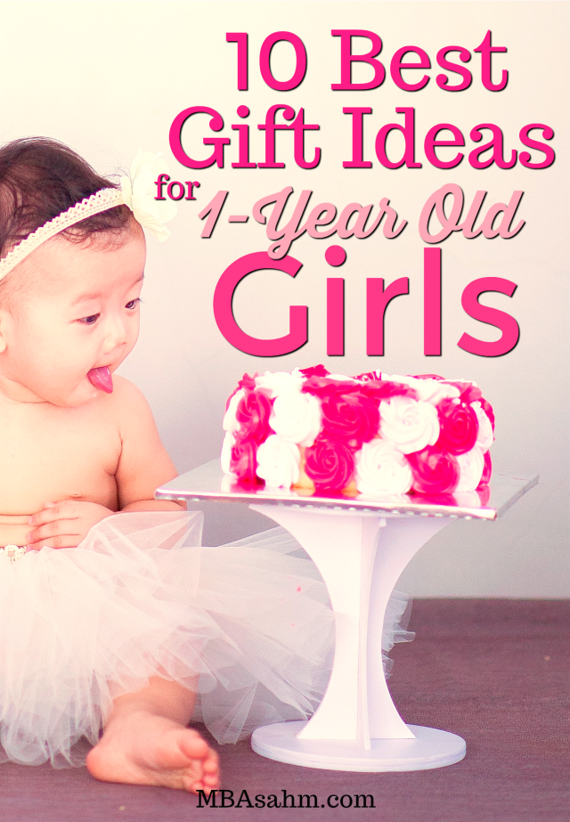 Looking for the best gift ideas for 1-year old girls? All of these gifts will be truly loved by your little 1-year old. Including toys that will last for years, toys without batteries, clothes, and books!