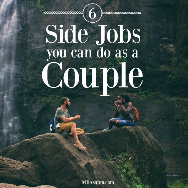 These side jobs for couples will help you achieve financial freedom with your spouse! If you're looking for a side hustle to do with your significant other, all of these ideas are a perfect fit!