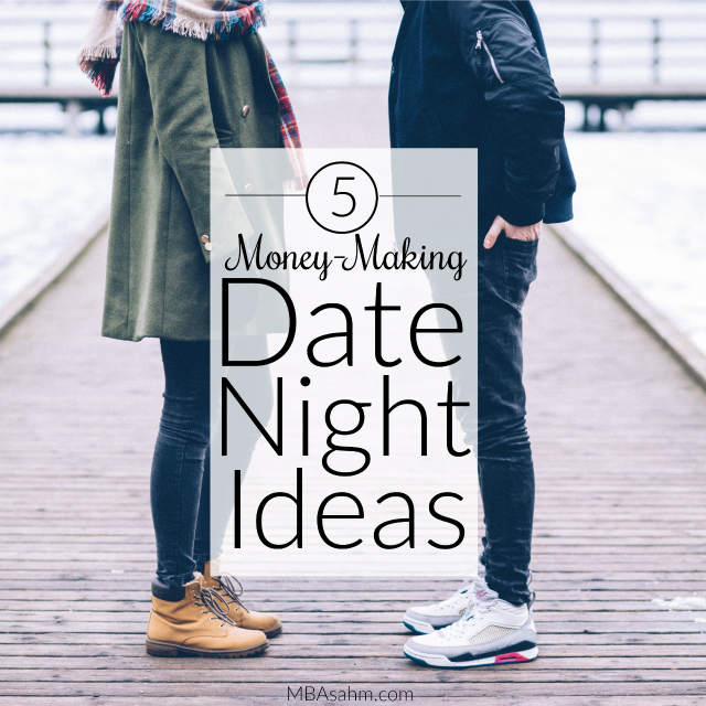 These money-making date night ideas are the best alternative to side jobs for couples...because they're actually a lot of fun!