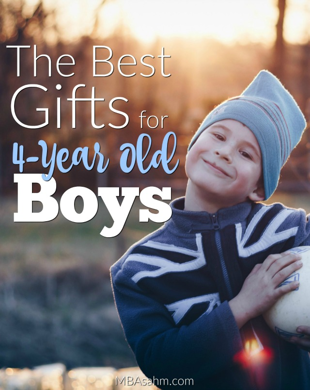 These gifts for 4-year old boys are always the big winners! If you're in search of gift ideas, this list will make the decision easy for you.