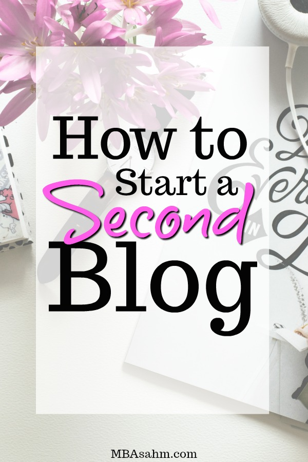 Starting a second blog could be the best decision you ever make, or the worst. But how do you know if you should start another blog? The answer is easier than you think and these tips for starting a successful blog will help your second one be a huge (and quick) success!