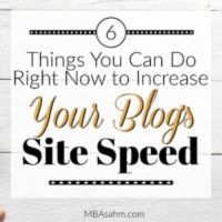 How to Increase Site Speed on Your Blog