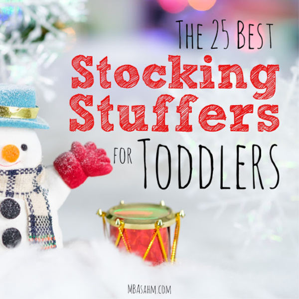 These toddler stocking stuffers will make for such a fun Christmas morning! No matter what your little girl or boy is interested in, this list will be helpful!