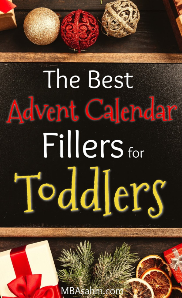 These Advent calendar fillers for toddlers are perfect for a DIY Advent calendar! Get your Christmas shopping done early so you can savor every moment of the holidays with your little ones!