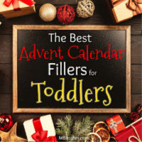Toddler Advent Calendar Filler Ideas