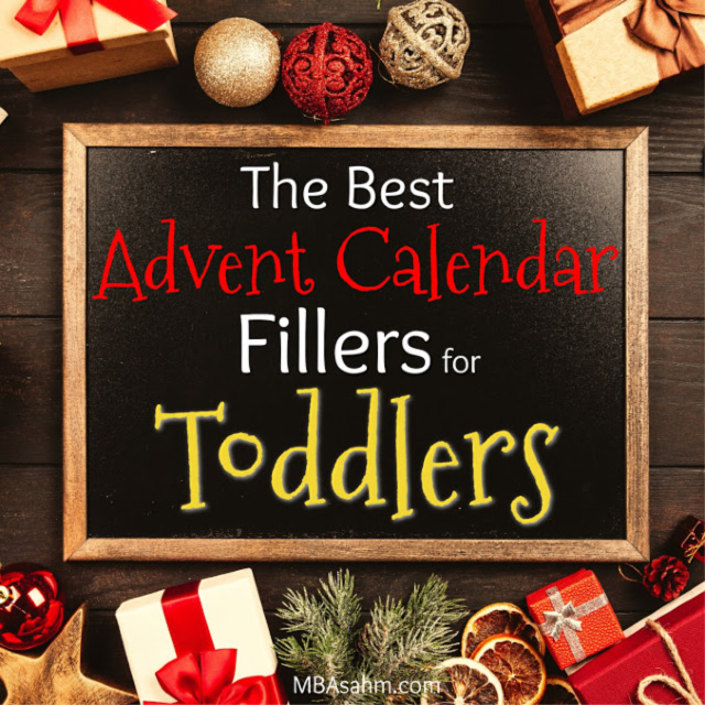 These Advent calendar filler ideas for toddlers will make your Christmas season so fun and special! A toddler Christmas is like no other, so make it a great one with these Advent calendar ideas!