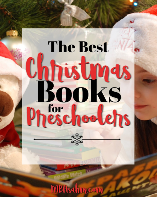 These Christmas books for preschoolers will make your Christmas season so much more fun! It's a great way to get preschool children more excited about the holidays and more importantly, learning good lessons about what the holidays are really about.