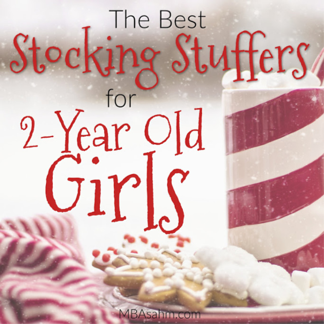 These stocking stuffer ideas for 2-year old girls will make your Christmas shopping easy this year! All of these toddler gift ideas will be huge winners in your house.