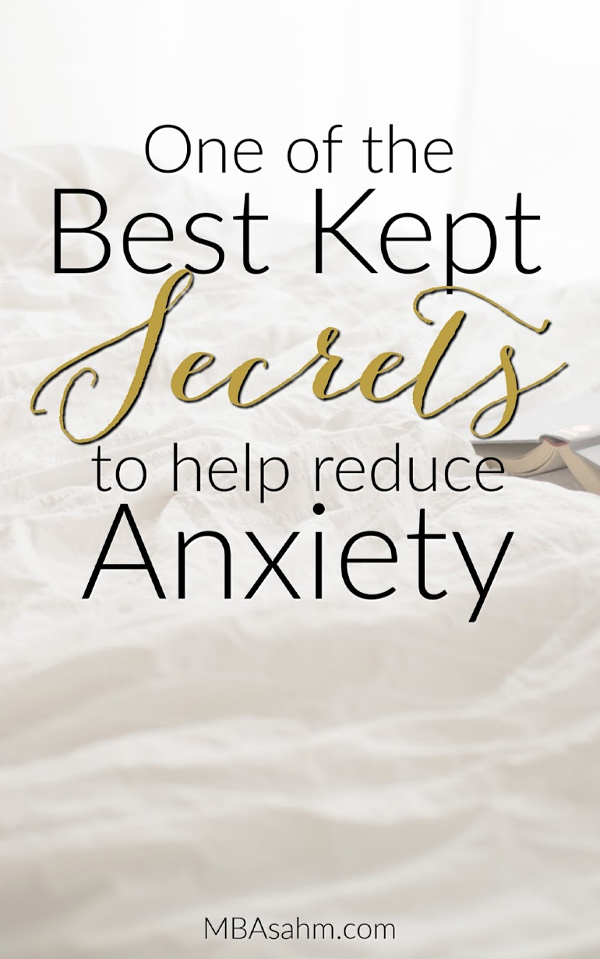 My husband and I recently came across one of the best ways to easily relieve anxiety and it worked immediately! If you haven't heard about this way to reduce anxiety, it's time to try it out.