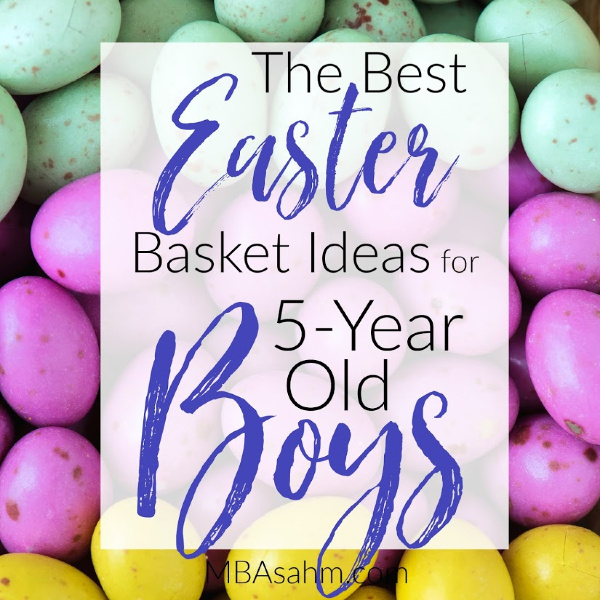 These Easter basket ideas for preschoolers and kindergarteners will make Easter so much fun this year!