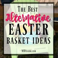 These alternative Easter basket ideas give you something else to use instead of a classic basket.